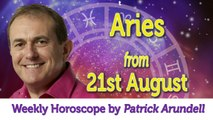 Aries Weekly Horoscope from 21st August - 28th August 2017