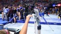 Florida Gymnastics: Alex McMurtry Perfect 10.0 Bars 2 10 17