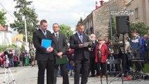 Rekonstrukcja rozbicia więzienia Gestapo w Mielcu 25 maja 2013r. wspomnienia weteranów Jędrusiów.  część 3