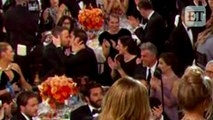 Ryan Reynolds and Andrew Garfields Hilarious Golden Globes Kiss: Emma Stone Reacts