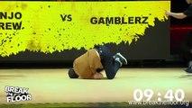 Break The Floor 2017 | final battle Gamblerz crew VS Jinjo crew