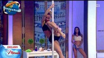 OOPS hot pole dance exibition in tv