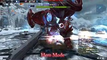 Mabinogi Heroes Vindictus RISE Arisha Dullahan Raid Hero Mode party play 아리샤 듀라한 레이드 히어로 모