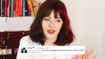Bisexual Erasure, Alcohol, Dating & Disney! | Ask Melanie