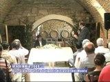 VENDEMMIA 2009. L'Ass. Stefàno visita i vigneti di Castel del Monte