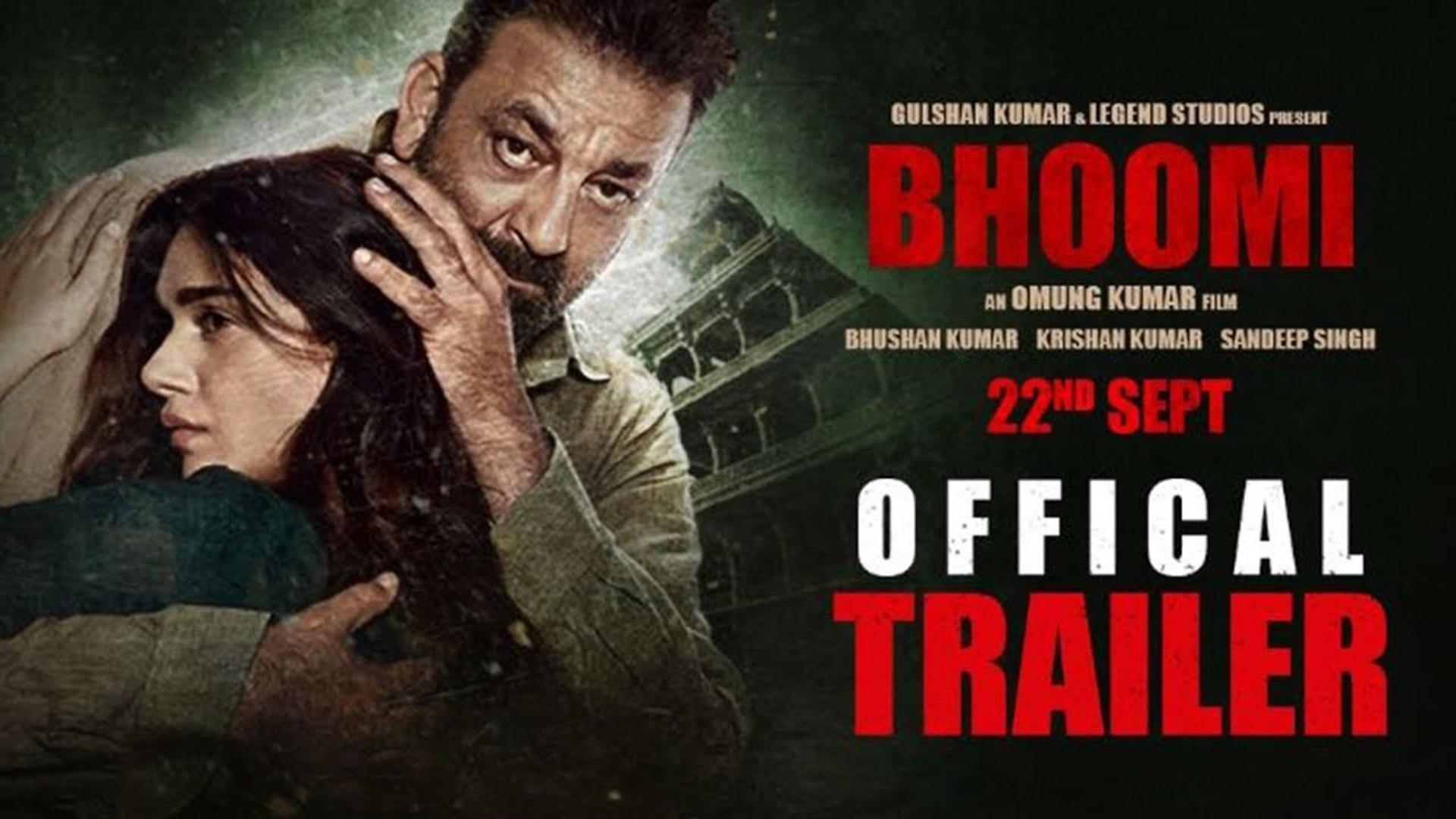 Bhoomi Official Trailer | Sanjay Dutt | Aditi Rao Hydari | Releasing 22 September | Bollywood Classi
