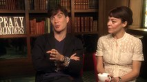 Interview with Cillian Murphy and Helen McCrory Peaky Blinders