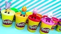 Uova Sorpresa di Peppa Pig, Uova di Play doh con giochi di Peppa Peppa Pig Italiano, tv series movies 2017 & 2018