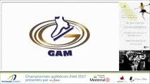 Championnats québécois d'été 2017 / Vidéo des partenaires