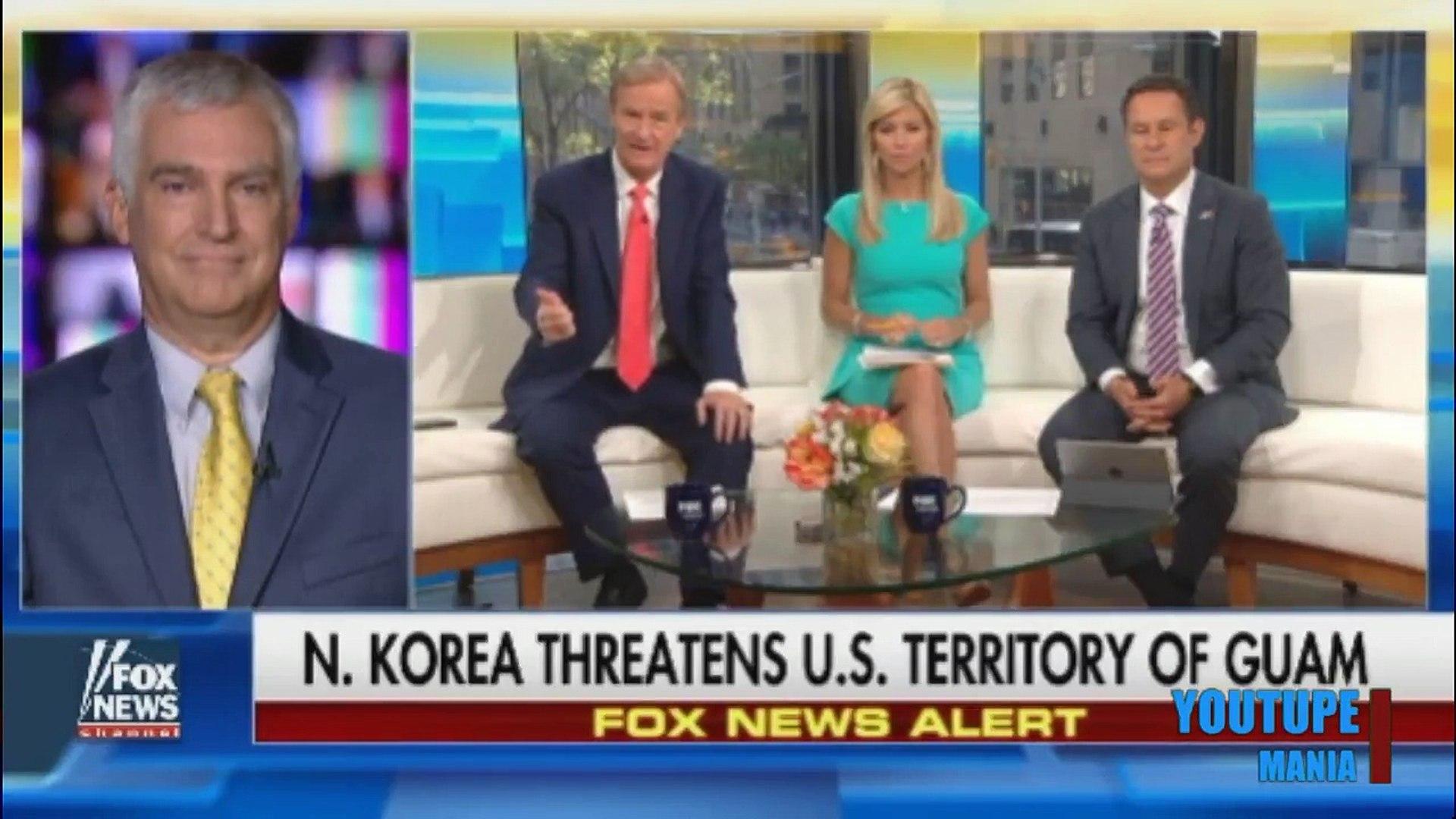 TRUMP WARNS NUCLEAR WEAPONS COULD BE USED IN PREEMPTIVE STRIKE ON N.KOREA