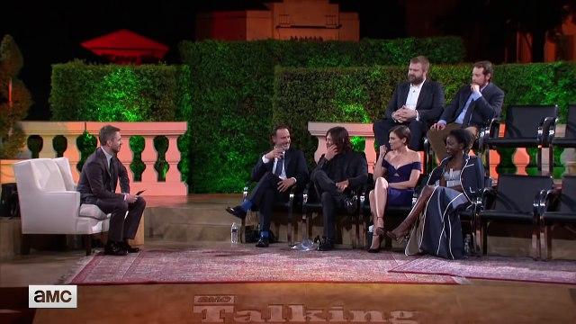 Lauren Cohan Talks Maggies Dark Moment From The Walking Dead Season 7 Premiere [HD]
