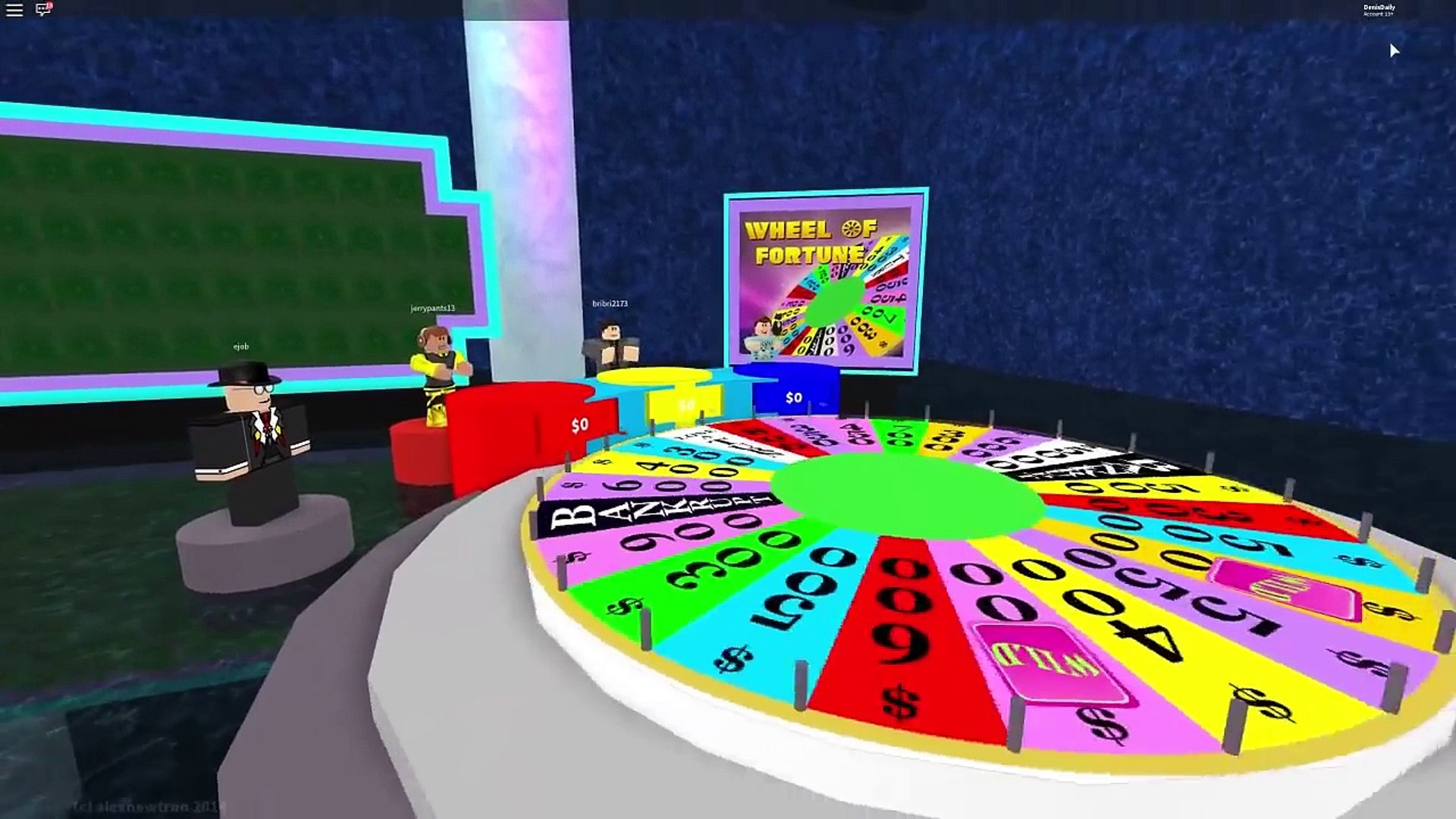 Roblox Adventures Will You Win Die Or Be Saved By Luck Wheel Of Fortune - kaelin on games roblox