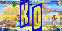 Street Fighter Alpha 3 Dhalsim Ryu Charlie Sakura 2 players internet