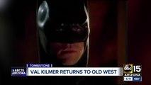 Actor Val Kilmer in Tombstone this weekend