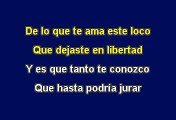 Te Conozco - Ricardo Arjona (Karaoke)