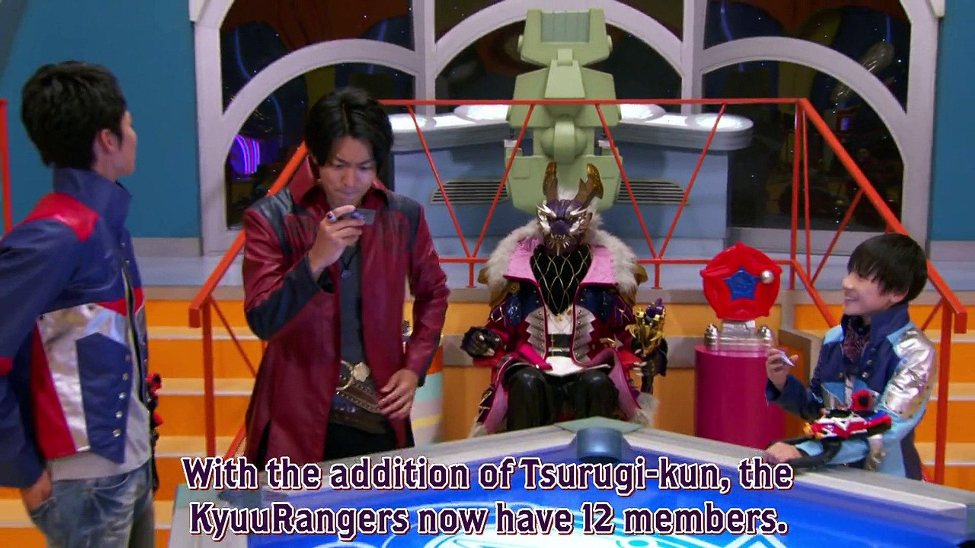 Uchuu Sentai Kyuranger 24 Henshin Lesson