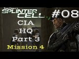Splinter Cell Gameplay | Let's Play Tom Clancy's Splinter Cell - CIA HQ 3/3 (Mission 4)