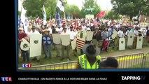 Charlottesville : un raciste fonce à la voiture bélier dans la foule (vidéo)