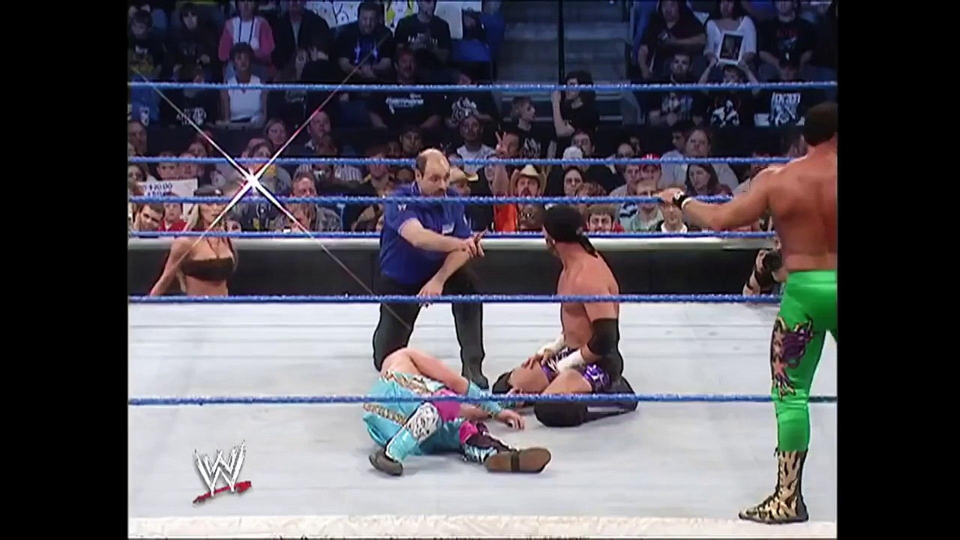 Brian Kendrick & Paul London vs Chavo Guerrero & Gregory Helms Part 2 (Part 1 In Descripti