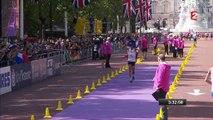 La joie de Yohann Diniz champion du monde du 50 km marche