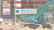 Heavy Equipment Companies UAE - Saeed Mohammed Al Ghandi & Sons