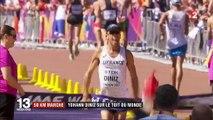 50 km marche : Yohann Diniz remporte la médaille d'or