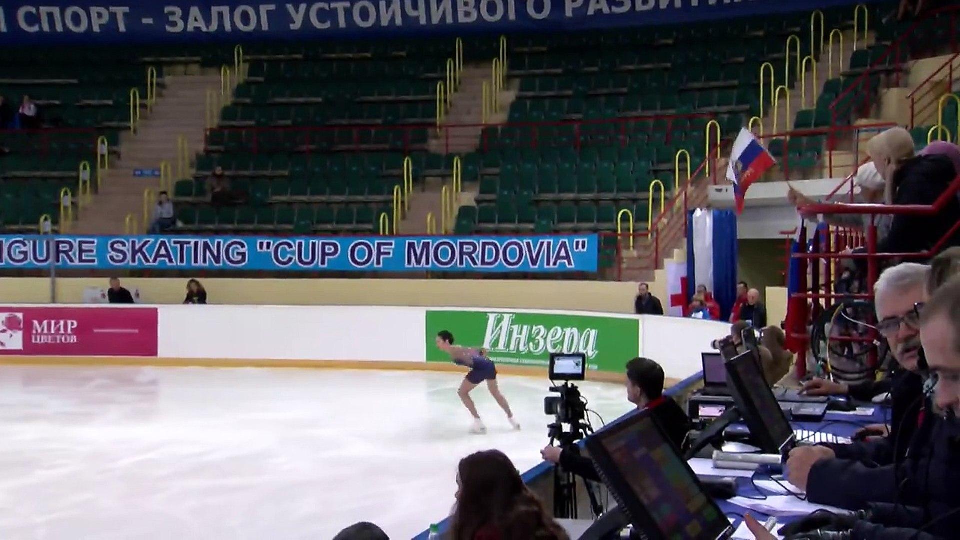 2016 ISU Junior Grand Prix Saransk Ladies Short Program Polina TSURSKAYA RUS
