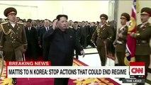 Gen. Mattis delivers stern warning to North Korea