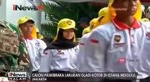 Calon Paskibraka Lakukan Gladi Kotor di Istana Merdeka