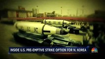 The Pentagon Prepares Pre-Emptive Strike Plan For North Korea  NBC Nightly News