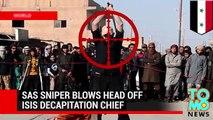 Head shot SAS sniper kills ISIS decapitation boss with single bullet to the head - TomoNews