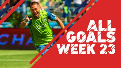 From Clint Dempsey to Luis Silva, catch all the goals from Week 23