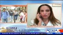 """""""Somos más de 30.000 venezolanos en República Dominicana"""": Esther Montilla"""