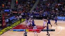 Carmelo Anthony Elbows Thabo Sefolosha and Gets Ejected | Knicks vs Hawks 12.28.16