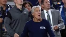 Pete Carroll GOES CRAZY after Hauschka missed field goal vs Seahawks 2016