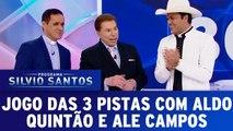 Jogo das 3 Pistas com Aldo Quintão e Alessandro Campos