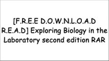 [RDsRe.[FREE] [DOWNLOAD] [READ]] Exploring Biology in the Laboratory second edition by Murray P. Pendarvis, John L. CrawleyPhilip YanceyJane B. ReeceScott Freeman [P.D.F]