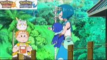Lana and Sophocles Go Out Together to the Sea! Pokémon Sun & Moon Anime [English Subbed]