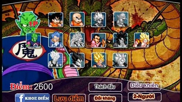 [ Review ] Chơi game 7 Viên Ngọc Rồng , Trận chiến của  Piccolo Vs Songoku