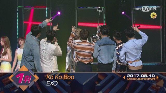 8월 둘째 주 1위 'EXO'의 'Ko Ko Bop' 앵콜 무대! (Full ver.)