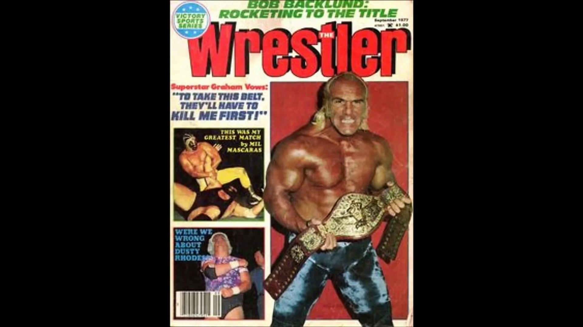 Tangled Ropes Superstar Billy Graham WWE Legends