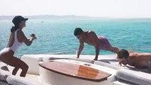 Kourtney Kardashian Works Out In Egypt With BF Younes Bendjima