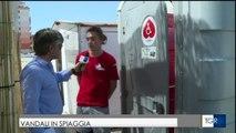 """Margherita di Savoia: vandali nella spiaggia per disabili """"tre volte in meno di un mese"""""""
