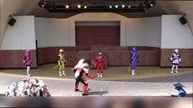 Power Rangers Ninja Steel Nininger & Power Rangers Ninja Storm Hurricanger & Kakuranger Special Sho