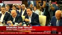 Memur-Sen Genel Başaknı Ali Yalçın 'Kamu İşveren heyetinin elindeki hesap makinesi eski Türkiye'den kalma'