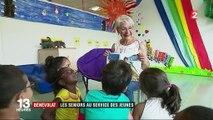 Bénévolat : les seniors au service des jeunes