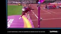 Le saut incroyable à 1m92 du champion du monde du saut en hauteur (vidéo)