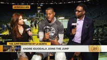 Golden State Warriors Andre Iguodala Joins The Jump | The Jump | ESPN