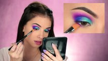 Colorful Summer Smokey Eye Makeup Tutorial | Jaclyn Hill x Morphe Palette