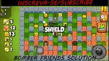 Bomber Friends Level 29  Nível 29  Fase 29 #BFS Solução